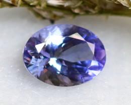 Tanzanite 1.10Ct Natural VVS Purplish Blue Tanzanite  E1716/A45