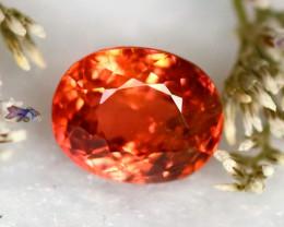 Tourmaline 1.17Ct Natural Orangey Red Color Tourmaline E1721/B49