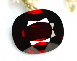 Almandine 10.56Ct Natural Vivid Blood Red Almandine Garnet  E1722/B29