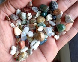 200 Ct Tumbled Gemstones Mix Lot 100% NATURAL AND UNTREATED VA1952