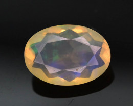 Rainbow Fire 0.85 ct Ethiopian Opal