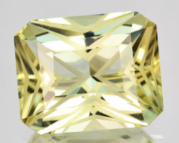 6.65 Cts Attractive Natural Yellow Tourmaline Mozambique (Video Avl