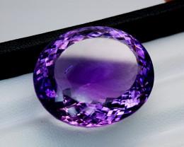 57Crt Natural Amethyst Natural Gemstones JI78