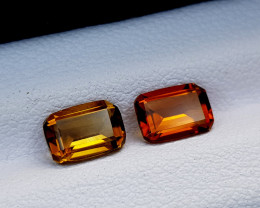 1.55Crt Madeira Citrine Natural Gemstones JI78