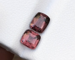 1.90 Carats Natural Spinel Cut Stones Pair from Tajikistan