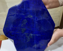 Collector Piece 80600 Carats Natural Huge Lapis Lazuli Free Form Tumble Fro