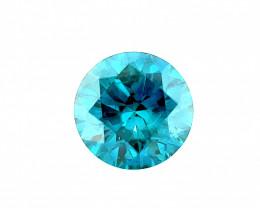 0.50 CT Diamond Gemstones Top blue color