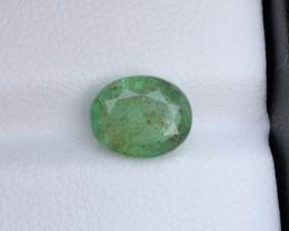2.25Ct Oval Shape Natural Zambian Emerald