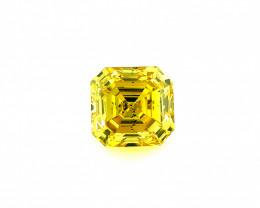 0.54 CT Diamond Gemstones Top yellow color Top Luster