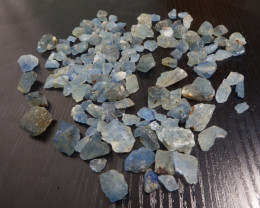 1000 Carats sky blue Transluscent Afghanite Rough large crystal mixed lot
