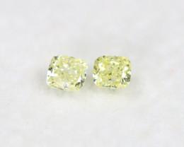 Yellow Diamond 0.22Ct Natural Untreated Genuine Fancy Diamond BM728