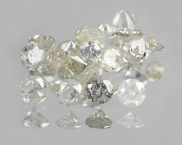 Untreated Diamonds 0.31 Cts 13 Pcs Fancy Multicolor Natural