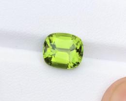 CERTIFIED 4.59 Carats Natural Peridot Cut Stone from Pakistan