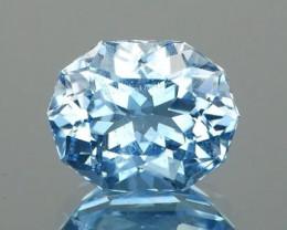 *Starts $15NR* Modern Cut Blue Beryl 0.93Ct.