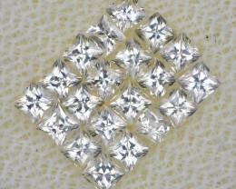 *Starts $15NR* Princess Cut White Sapphire Set 1.29Ct.