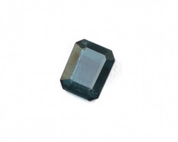 1.85 Carats Natural Dark Blue Tourmaline Cut Stone from Afghanistan