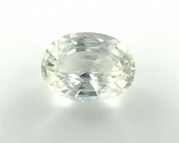 1.56 CT white Sapphire Gemstones