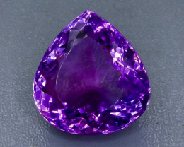 Crt 29.11 amethyst  Faceted Gemstone (Rk-26