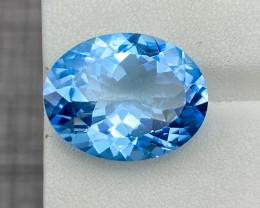 Natural Blue Topaz 13.95 Cts Good Luster