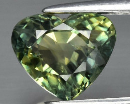 2.14 ct Natural Earth Mined Tri-Color Sapphire Africa