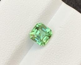 1:30 Cts Bluish Green Tourmaline Gemstone from Afghanistan