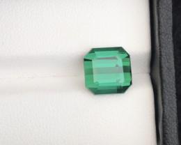 Brilliant Color 5.00 Ct Natural Blueish Green Color Tourmaline