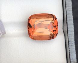 Brilliant Quality 14.15 Ct Sunset Color Tourmaline From Nigeria