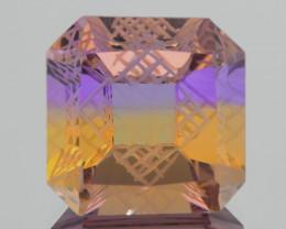 13.67Ct Ametrine Exquisite Fantasy Cut Gemstone