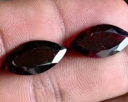 Caliberated Garnet Gemstone Pair 100% NATURAL AND UNTREATED VA1993