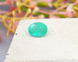 Colombian 1.31Ct Natural Colombian Green Emerald C1625