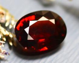 Almandine 2.91Ct Natural Vivid Blood Red Almandine Garnet  D2001/B26