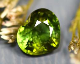 Tourmaline 1.51Ct Natural Heart Shape Green Color Tourmaline D2017/B48