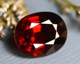 Almandine 6.14Ct Natural Vivid Blood Red Almandine Garnet D2023/A5