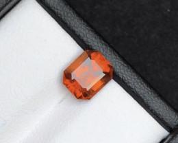 Top Color 1.35 ct Natural Hessonite Garnet~M