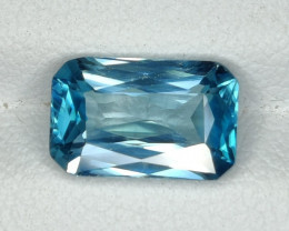 3.70 CTS AWESOME SPARKLE NATURAL RARE BEST BLUE ZIRCON~EXCELLENT!