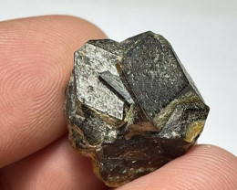 Amazing Natural color Damage free Garnet cluster with mine clay 34Cts-A