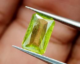 1.28Crt Green Sphene  Color Change Natural Gemstones JI79