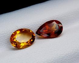 2.12Crt Madeira Citrine Natural Gemstones JI79
