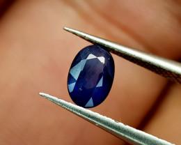 0.58Crt Blue Sapphire Heat be Natural Gemstones JI79