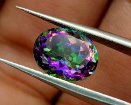 2.52Crt Mystic Quartz Natural Gemstones JI79