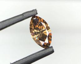 *NR*AIG-Cert-Diamond-HPHT-Brown/Golden