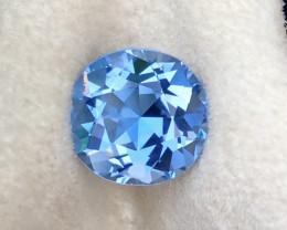 4.65 Carat Natural Class Of Maxixe Brazil Beryl (Aquamarine ) Gemstone