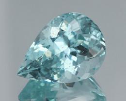 18Ct Nice Blue Apatite Exquisite Quality  Cut Gemstone