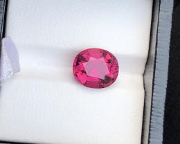 Fabulous Reddish Pink Color 4.00 Ct Rubelite Tourmaline From Mozambique