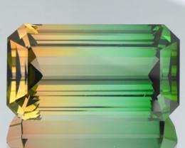 Flawless 77.22Ct Bi Tourmaline Cut Gemstone