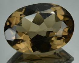 10.95 Cts Natural Smoky Quartz Brazil Gemstone