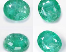 Emerald 7.14 Cts IGI CERTIFIED Green Color Natural Emerald Loose Gemstone