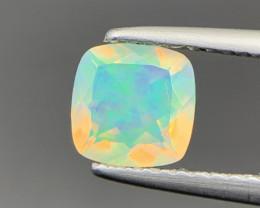0.55 Ct Ethiopian Fire Opal Gemstone. Op-110