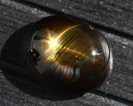 Star Sapphire 12.02Ct Natural 6 Rays Black Star Sapphire E2123/A39