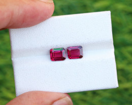 2.25 CTs Natural & Unheated~ Purple To Red Color Change Garnet Gemstone Pai